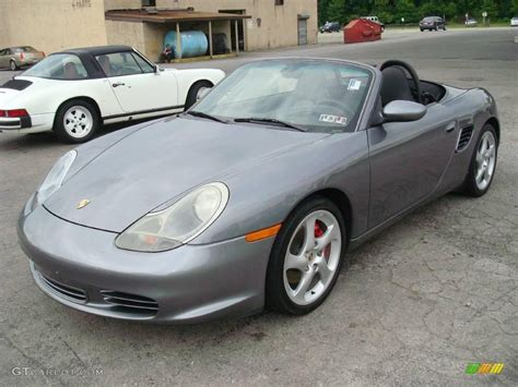 grey porsche boxster 2003 seal grey metallic porsche boxster s 15323345 photo