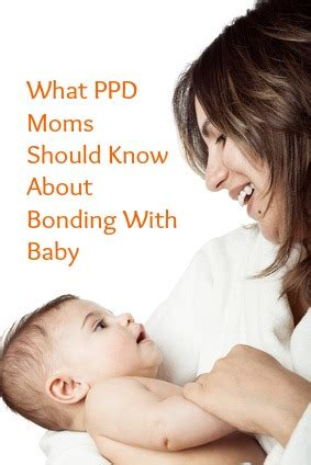 bonding  baby attachment   ppd mom