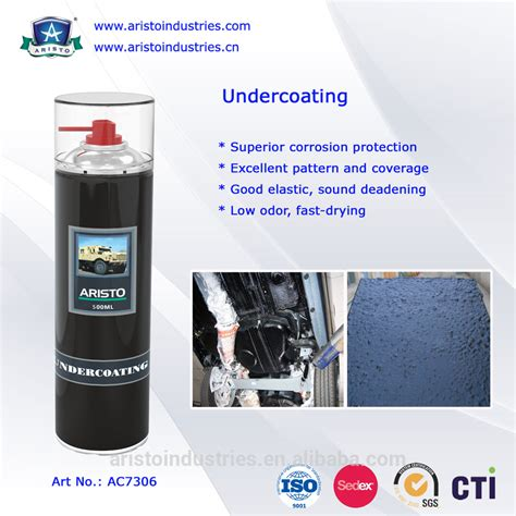 Low Odor / Underbody Rust Protection Rubberized