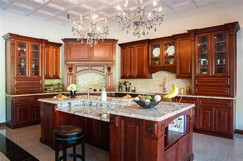 Coline Cabinets Island by Mahogany Maple J5 New Vitex Innovation