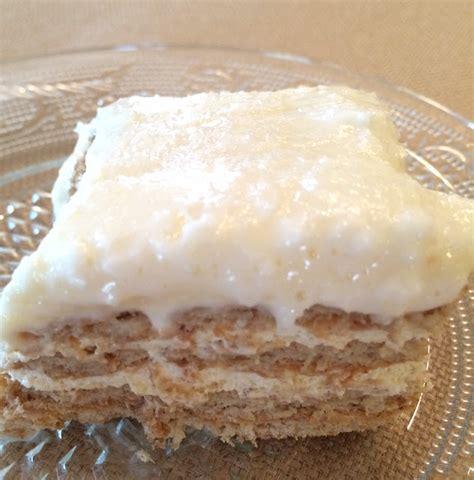 maryland pink and green no bake graham cracker cake
