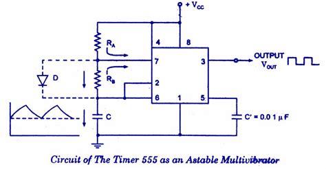 Timer Astable Multivibrator Todays Circuits