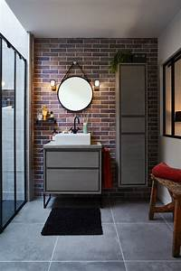 Meuble Salle De Bain Style Industriel : salle de bain industriel meubles salle de bain style industriel beau meuble salle de bain ~ Melissatoandfro.com Idées de Décoration