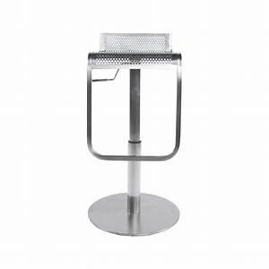 Tabouret De Bar Inox : tabouret bar design naples acier pier import ~ Teatrodelosmanantiales.com Idées de Décoration