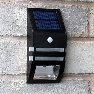 Licht Bewegungsmelder Aussen : schwarz led solar pir bewegungsmelder wandleuchte produkt au en batterie wiederaufladbare sun ~ Eleganceandgraceweddings.com Haus und Dekorationen