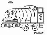 Coloring Percy Thomas Friends sketch template