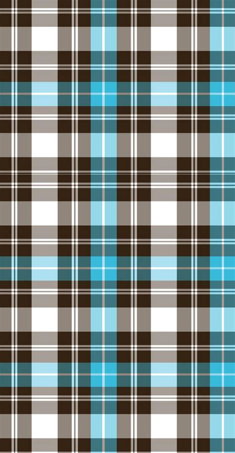 Turquoise Plaid Custom Box Background By Bgs And Banners