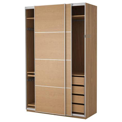 Small Wooden Wardrobe by 30 Best Ideas Of Wood Wardrobe Sliding Doors