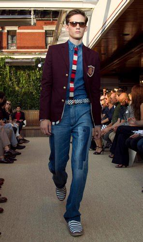 mens wear  emphasis   preppy  persists