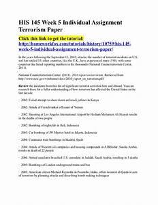 against terrorism essay