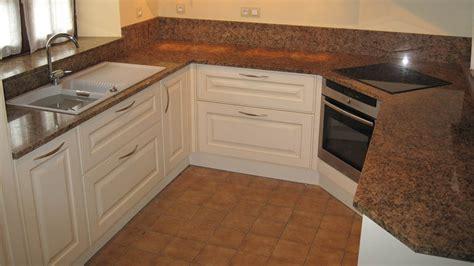 cuisine avec plan de travail en granit cuisine plan travail granit