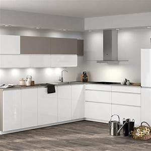meuble de cuisine ingenious composition type albe leroy With facade meuble cuisine leroy merlin