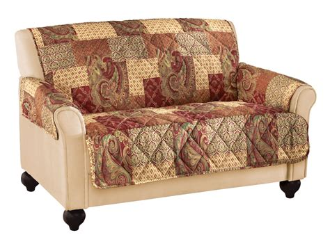 paisley floral patchwork furniture cover by collections