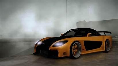 Rx7 Veilside Mazda Fortune Rx Yellow Wallpapersafari