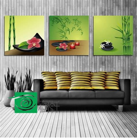 Feng Shui Wall Decor by 3 Panel Wall Art Feng Shui The Picture Home Decoration