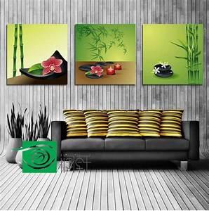 Décoration Feng Shui : 3 panel wall art feng shui the picture home decoration ~ Dode.kayakingforconservation.com Idées de Décoration