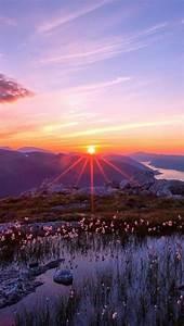 Beautiful Mountain Sunset - beautiful | Sunrise and ...