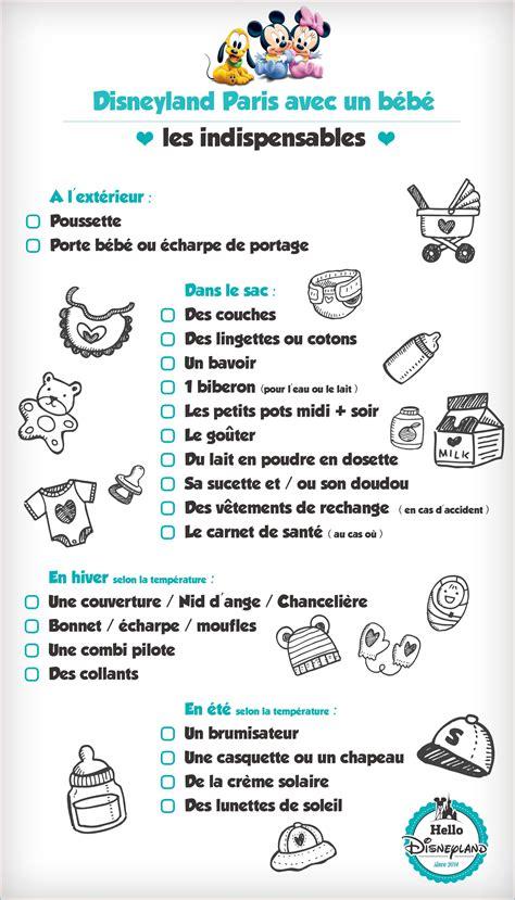 Modification De Pdf En Ligne by Disneyland Avec B 233 B 233 Check List Disney Bebe