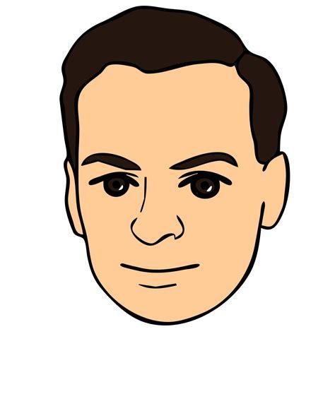 Clip Faces Portrait Clipart Pencil And In Color Portrait