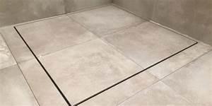 Geflieste Dusche Nachträglich Abdichten : geflieste duschen ohne gef lle mit gro en fliesen baqua ~ Orissabook.com Haus und Dekorationen
