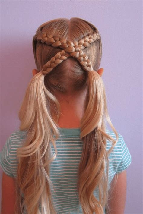 cute girls hairstyles   kids ready   fun