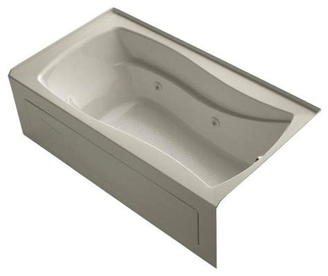 Jetted Bathtubs Home Depot by Kohler Jetted Bathtubs Mariposa 5 5 Ft Air Bath Tub In