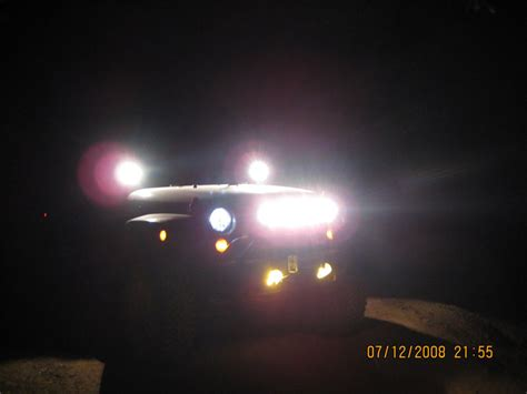 jeep headlights at night delta headlights jkowners com jeep wrangler jk forum