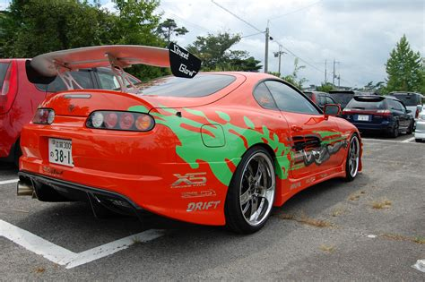 Toyota Supra, Car, Toyota, Vehicle, Red Cars, Fast And