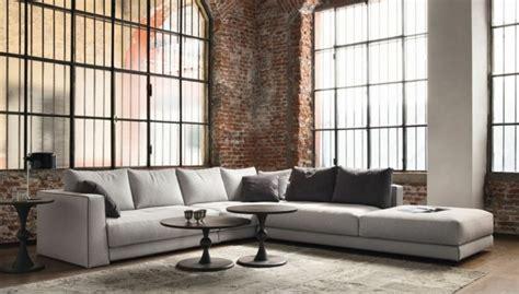 canapé bas design le canapé design italien en 80 photos pour relooker le salon