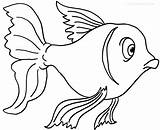 Goldfish Coloring Fish Printable Cool2bkids Drawing Bowl Sheets Outline Printables Worksheets Animal Getdrawings Getcolorings sketch template