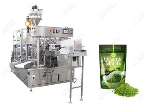 automatic powder tea filling  sealing machine cankey