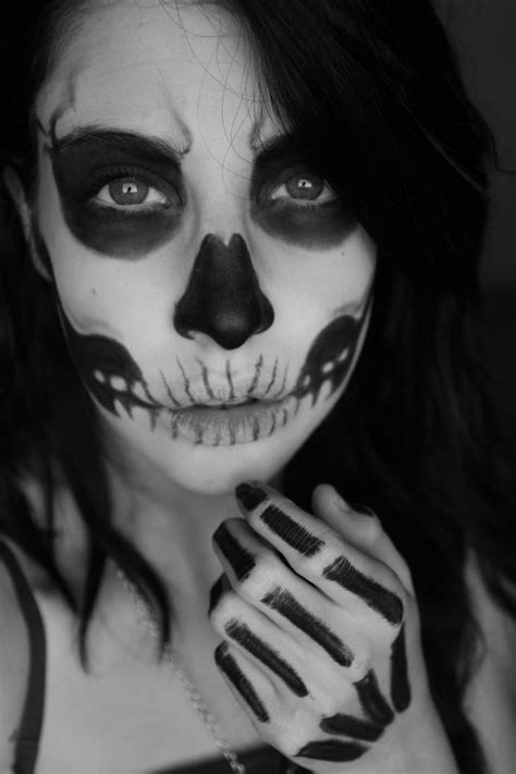 halloween makeup  women   scary  wow style