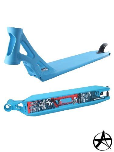 addict scooter pro deck maxime le baron legrand signature scooter deck blue cheap largest