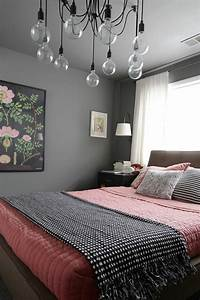 Tableau Pour Chambre Adulte : 1001 conseils et id es pour une chambre en rose et gris sublime ~ Melissatoandfro.com Idées de Décoration