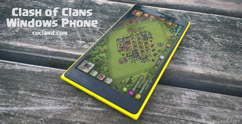 clash of clans for windows phone coc land