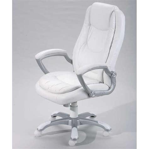 fauteuil de bureau montello blanc 99803170 achat