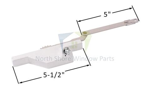split arm casement window operator dyad  arm truth hardware   hand truth
