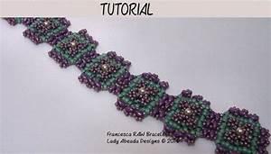 Jewelry Tutorial  Pdf Beading Pattern  Superduo Bracelet