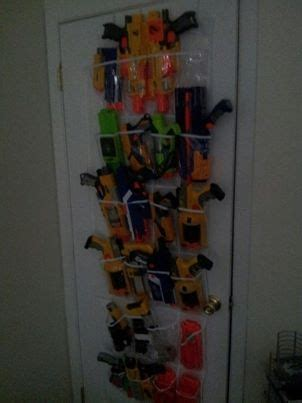 This is sure to be every kid's favorite spot in the house! Pin on ORGANIZE NERF GUNS