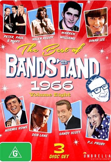When nbc announces a national competition to find the next best swing band, donny quickly hatches a plan. Best Of Bandstand - Vol 8 | 1966, The TV, DVD | Sanity