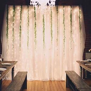This backdrop simple and cheap to make backdrop wedding