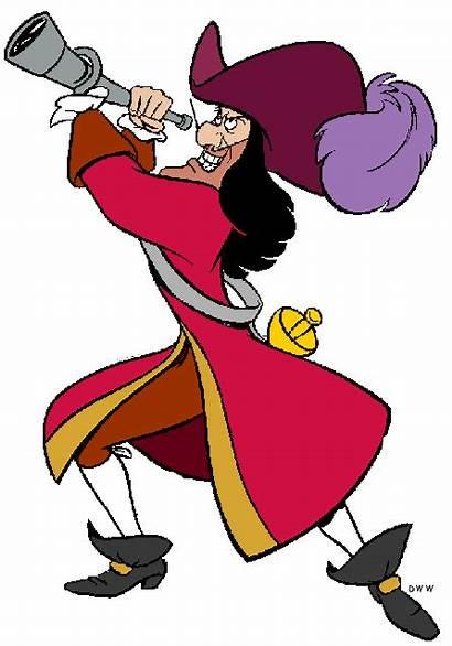 Hook Captain Pan Peter Disney Clip Clipart