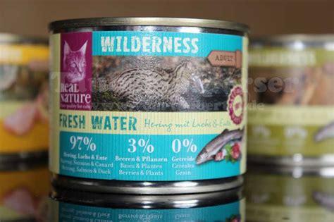 katzenfutter real nature katzenfutter im test real nature wilderness taubertalperser