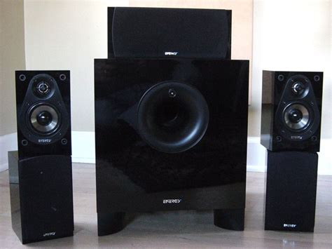 energy  classic  speaker system review audioholics