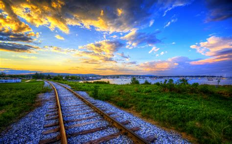 Train Track Desktop Background Wallpapers 10639 Amazing
