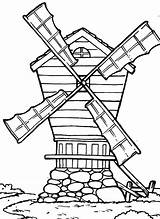 Coloring Country Pages Windmill Farm Drawing Western Cross Windmills Getdrawings Printable Getcolorings Batch Pag sketch template