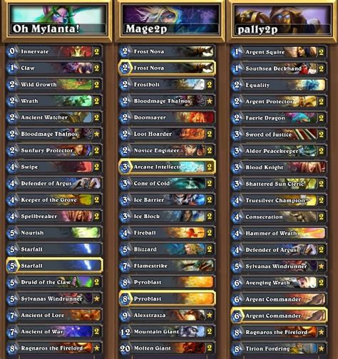 hearthstone deck list hearthstone news decklists and vods from na vs china