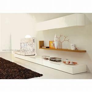 Meuble Tv Avec Etagere : meuble tv etag re studio design italien ~ Teatrodelosmanantiales.com Idées de Décoration