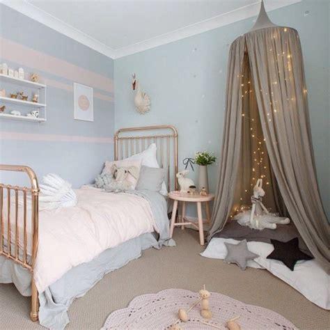 chambre bleu pour fille idée déco pour chambre de fille