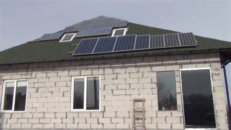 Солнечные батареи для частных домов сколько стоит расчет установка и отопление